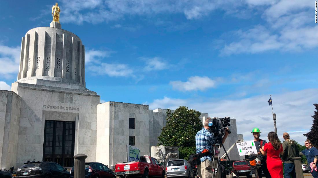 Oregon Republicans are hiding -- literally -- rather than vote on a climate bill