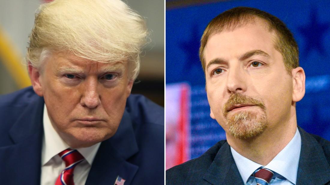 Donald Trump and Chuck Todd