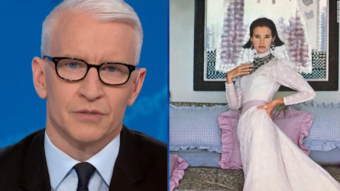Anderson Cooper describes final moments with his mother in a touching tribute