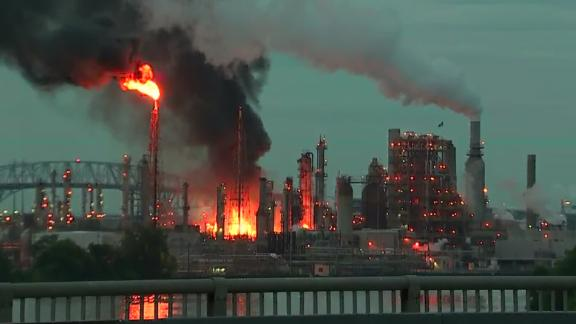 Philadelphia Energy Solutions reportedly is the largest oil refining complex on the Eastern Seaboard.
