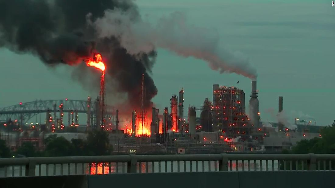 Philadelphia refinery shutdown could raise gas prices in the northeastern US