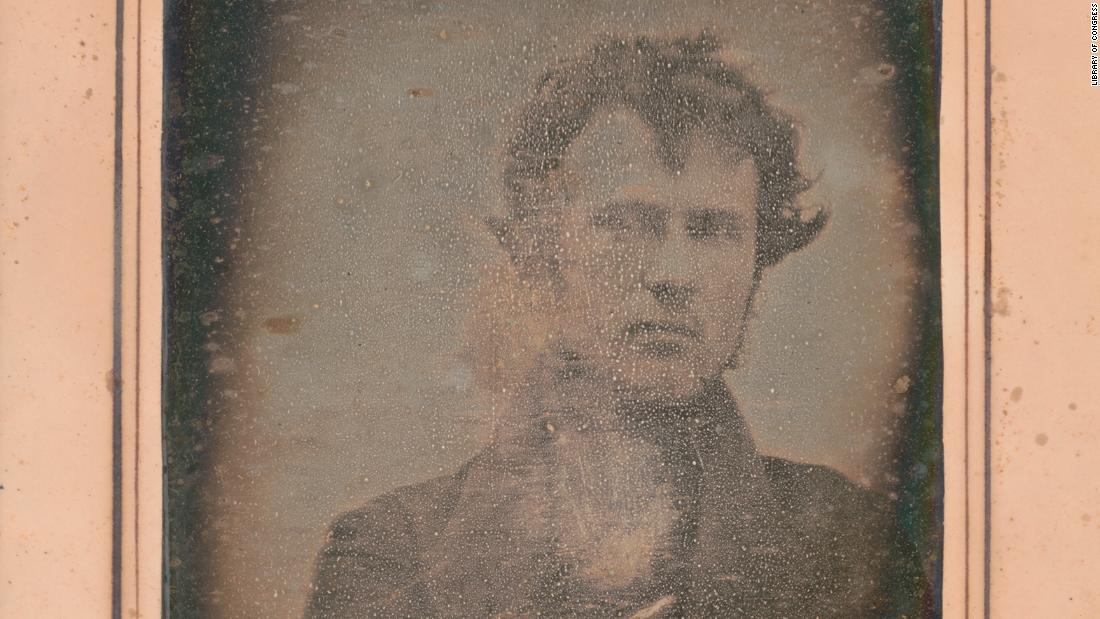 Long before Ellen and Kim, there was Robert Cornelius. He took the world's first selfie nearly 180 years ago.