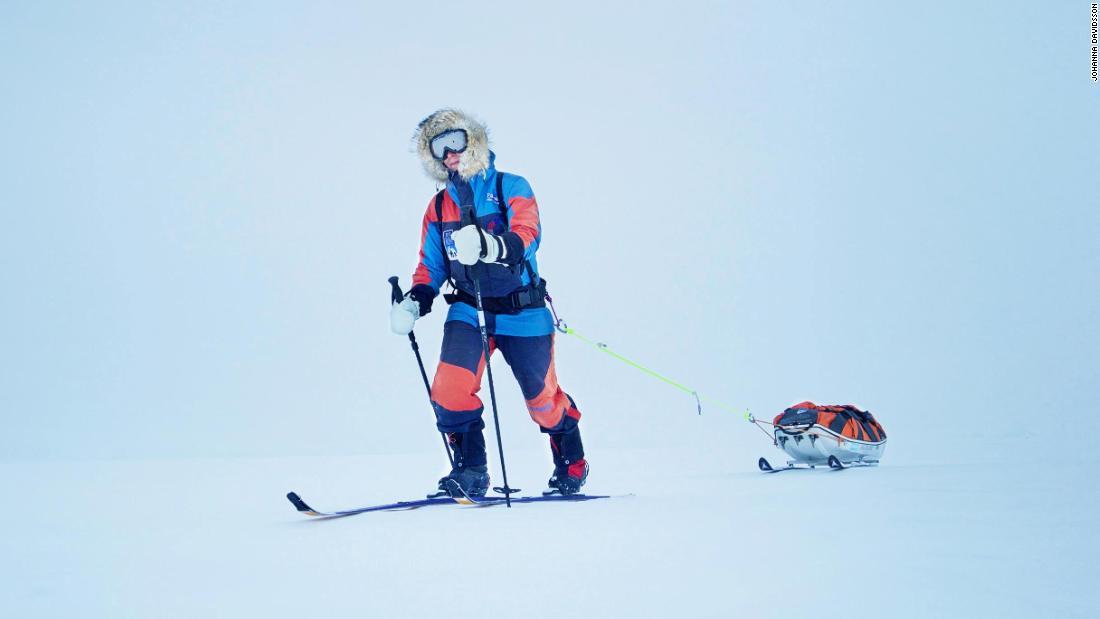 The accidental Antarctic record-breaker