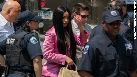 Cardi B indicted by grand jury on unspecified charges in strip club case