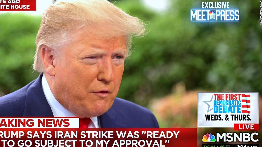 Trump's smart call on Iran