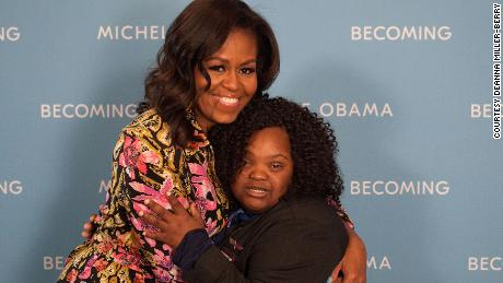"Since meeting Michelle Obama, Pooser refers to her mother as ""Mrs. Berry"" because the former first lady ""is her new momma,"" Miller-Berry says."