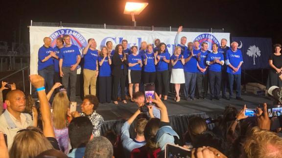 Democratic candidates attend Rep. Jim Clyburn