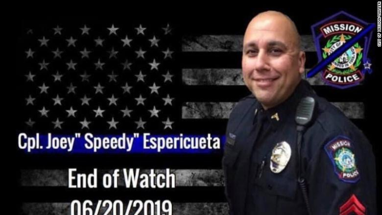 Texas police officer killed in the line of duty