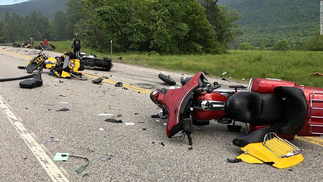 Truck driver charged with killing motorcyclists in New Hampshire shouldn't have had a license, Massachusetts official says