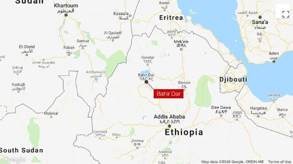 Officials say the coup attempt occurred in Bahir Dar in northern Ethiopia.