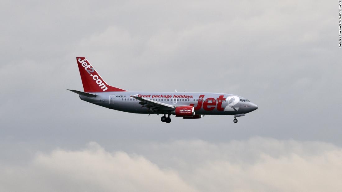 Woman arrested after RAF jets escort passenger plane back to London