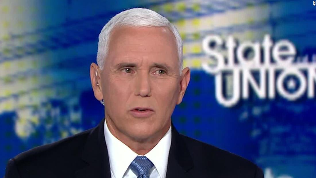 Mike Pence's unbelievable answer on whether climate change is a threat
