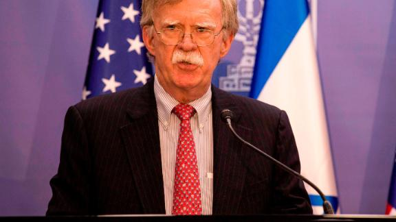 US national security advisor John Bolton warned of the possibility of a future strike against Iran.