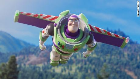"AND BEYOND -- Buzz Lightyear is back on the big screen in Disney and Pixar's ""Toy Story 4,"" joining Woody and the whole gang on an eye-opening road trip that takes them to unexpected places, including a carnival. Featuring Tim Allen as the voice of Buzz, ""Toy Story 4"" opens in U.S. theaters on June 21, 2019. ©2019 Disney/Pixar. All Rights Reserved."