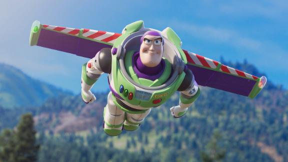 AND BEYOND -- Buzz Lightyear is back on the big screen in Disney and Pixar