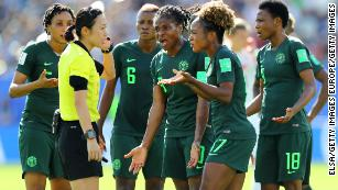 Women's World Cup: Referees coming under heavy criticism in France