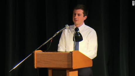 Pete Buttigieg confronts leadership test in impassioned South Bend townhall
