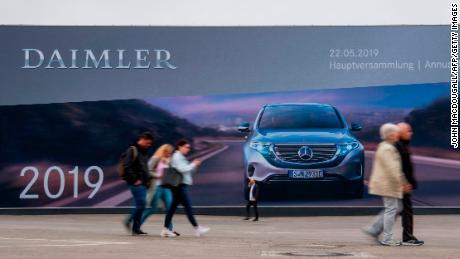 The diesel scandal has just destroyed earnings growth at Daimler, maker of Mercedes-Benz