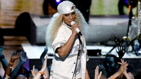Mary J. Blige performs onstage at the 2019 BET Awards