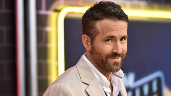 """NEW YORK, NY - MAY 02:  Ryan Reynolds attends the premiere of """"Pokemon Detective Pikachu"""" at Military Island in Times Square on May 2, 2019 in New York City.  (Photo by Steven Ferdman/Getty Images)"""