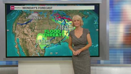 Over 110 million could be impacted by severe weather