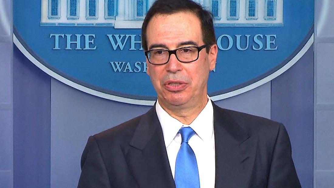 Mnuchin details new sanctions on Iran
