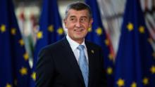 Czech Prime Minister Andrej Babis addresses the country's coronavirus response in a news conference on October 21, 2020, in Prague, Czech Republic.