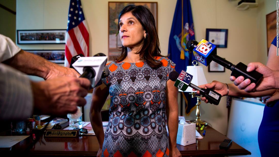 Democrat Sara Gideon announces run against Susan Collins