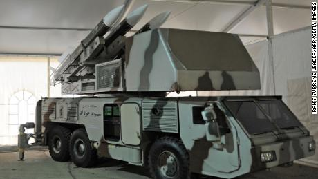 A Khordad-3 air defense