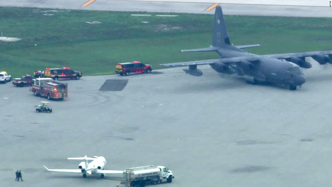 5 people hurt when tour bus wrecks in Bahamas. US military aircraft carries 4 to Fort Lauderdale for treatment.