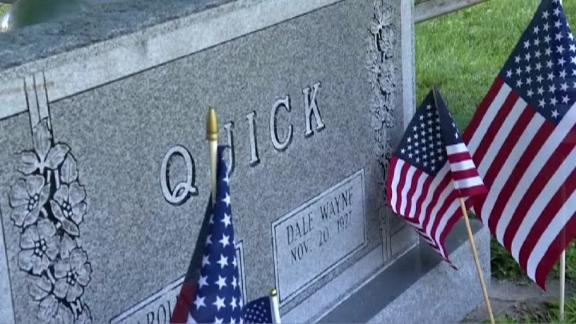 Hundreds showed up to honor Dale Quick at his funeral Monday.