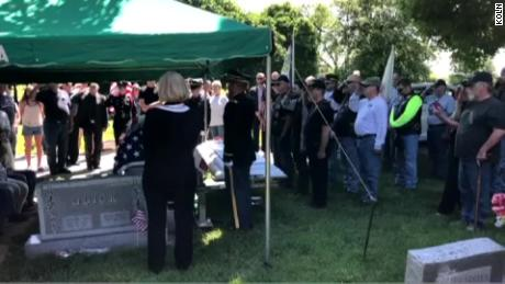 Hundreds packed a Korean War veteran's funeral when he died without surviving family members in Nebraska