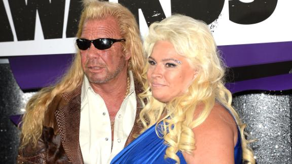 NASHVILLE, TN - JUNE 05:  (L-R) TV personalities Duane Dog Lee Chapman and Beth Chapman attend the 2013 CMT Music awards at the Bridgestone Arena on June 5, 2013 in Nashville, Tennessee.  (Photo by Jason Merritt/Getty Images)