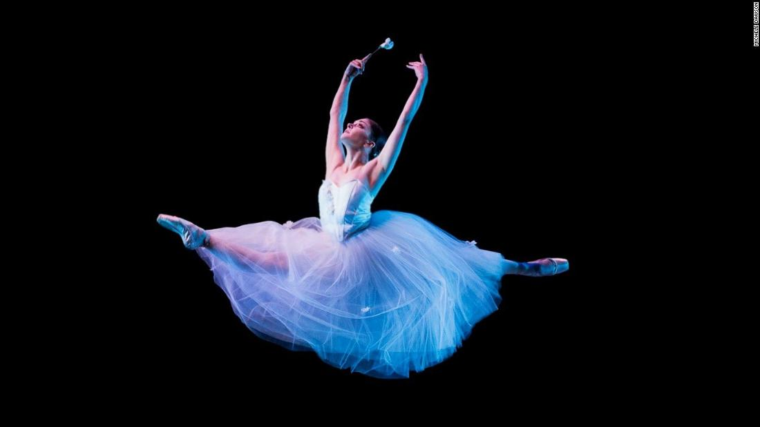 Doctors couldn't explain why an acclaimed ballet dancer was ill. Finally, she's resurrecting her career