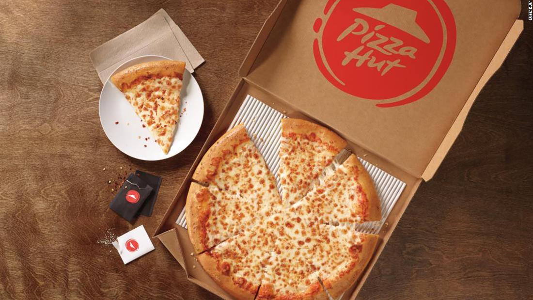 Pizza Hut brings back its retro logo