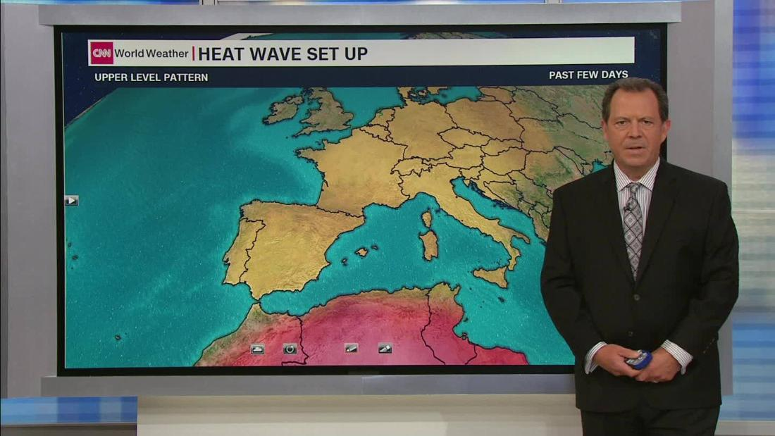 Germany's temperature record smashed as Europe's heat wave intensifies