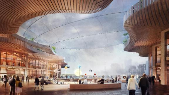 Sidewalk Labs expects to build a neighborhood of wood buildings in Toronto.