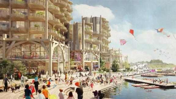 Sidewalk Labs has committed more than $50 million to create its plan for developing part of Toronto's waterfront.