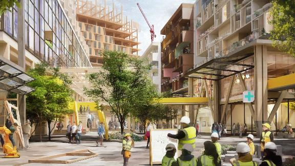 Sidewalk Labs plans to develop a Toronto neighborhood as a smart city for the 21st century. But critics are raising concerns.