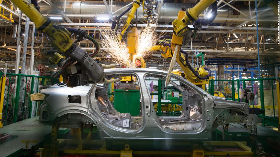 Robots could take 20 million manufacturing jobs by 2030