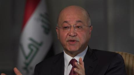 Iraqi President: We don't need another war