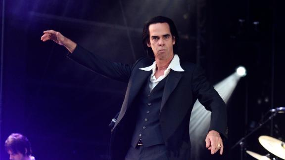 """Nick Cave on June 3, 2018 in London. """"I hope the voice of God would be something other than booming, authoritarian and male,"""" he says."""