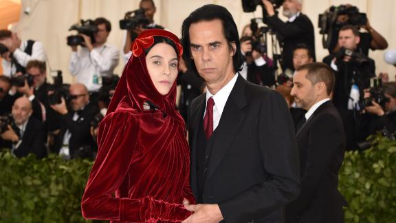 Nick Cave and his wife, Susie.