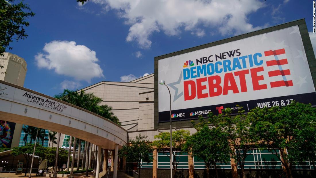 Live updates: The first Democratic debate, night 2 - CNNPolitics