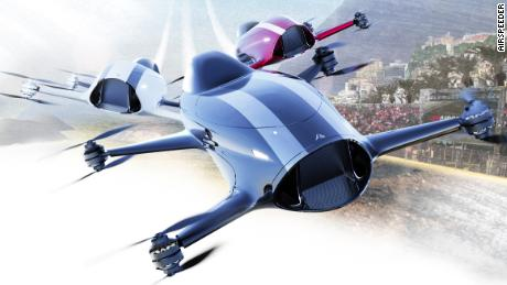 Airspeeder: The racing series wants to be Formula 1 of the skies