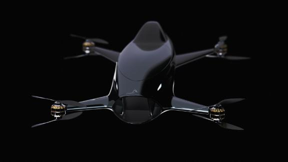 The low altitude quadcopter aircraft has been designed by Australian start-up Alauda Racing.