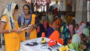 Women are bringing solar energy to thousands of Indian villages