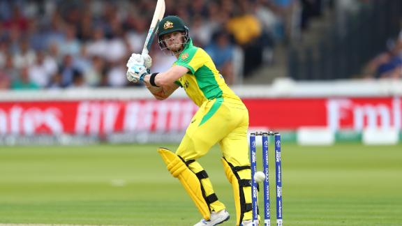 Australia's Steve Smith was booed and jeered by England supporters at Lord's.