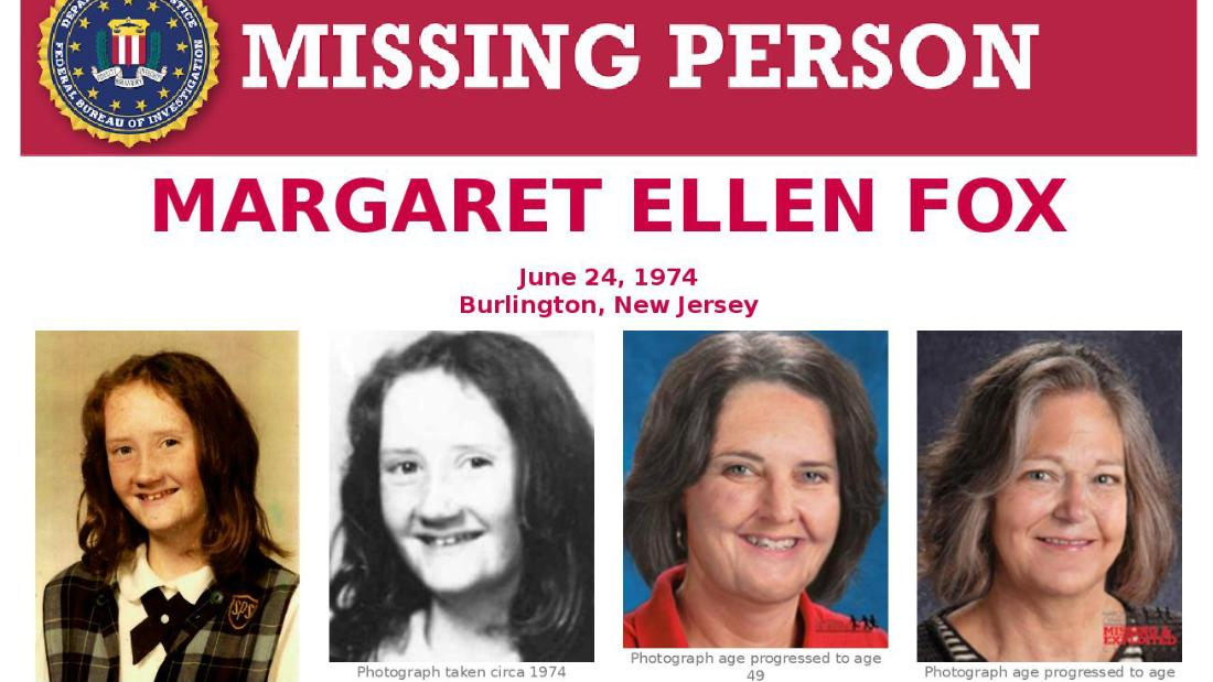 Margaret Ellen Fox disappearance: FBI releases audio clip