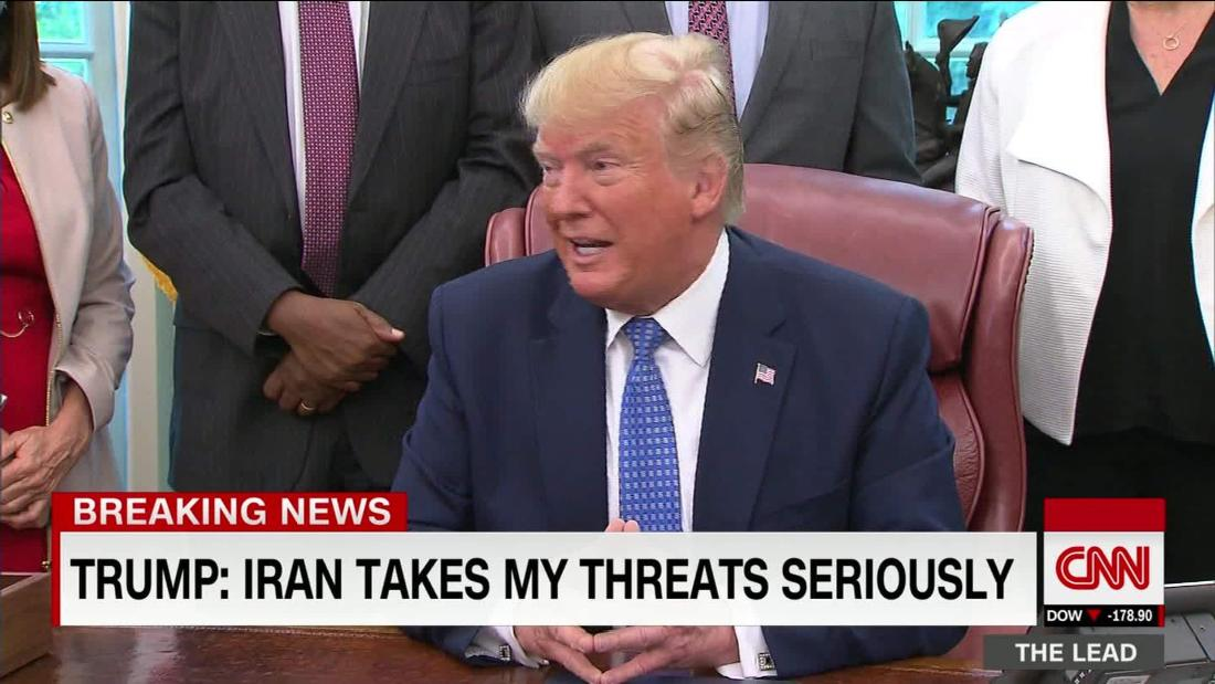 Trump's casual talk of a hypothetical war with Iran underestimates dangers